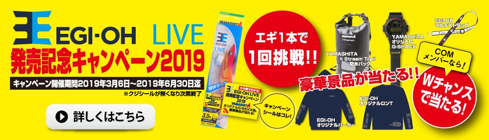 エギ王LIVE発売記念キャンペーン2019
