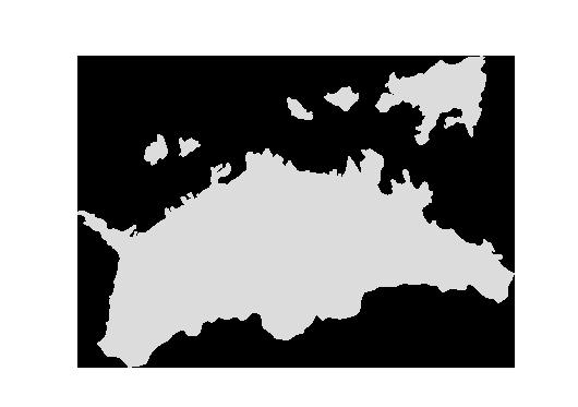 地図 香川
