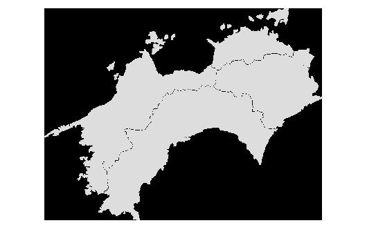 地図 四国