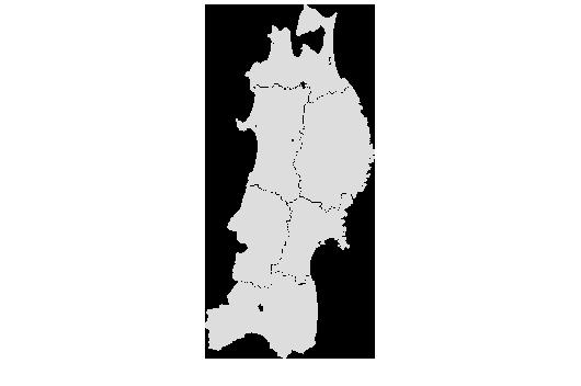 地図 東北
